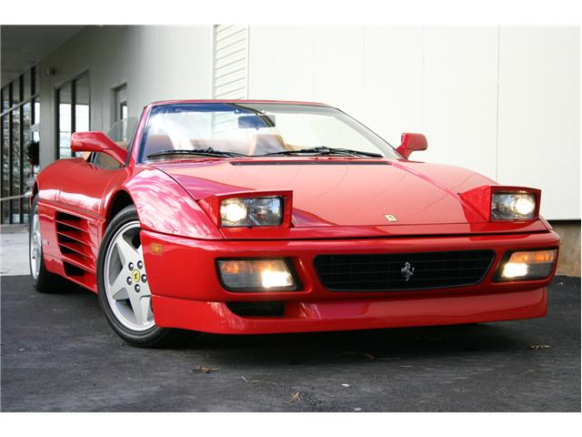 the ferrari 348 spider needs to be started and briefly warmed up before casual driving with extreme track driving not occurring within ten minutes of