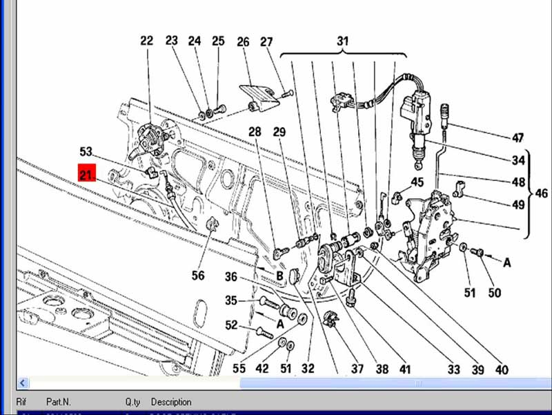 my ferrari 348, Wiring diagram